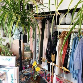 Fashion at the Salty Vault coastal boutique in cornwall