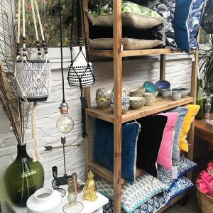 Interiors at the Salty Vault coastal boutique in cornwall