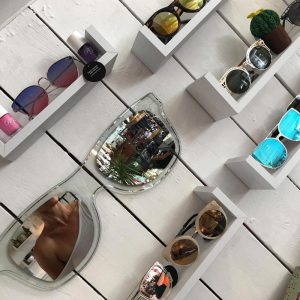 Sunnies at the Salty Vault coastal boutique in cornwall